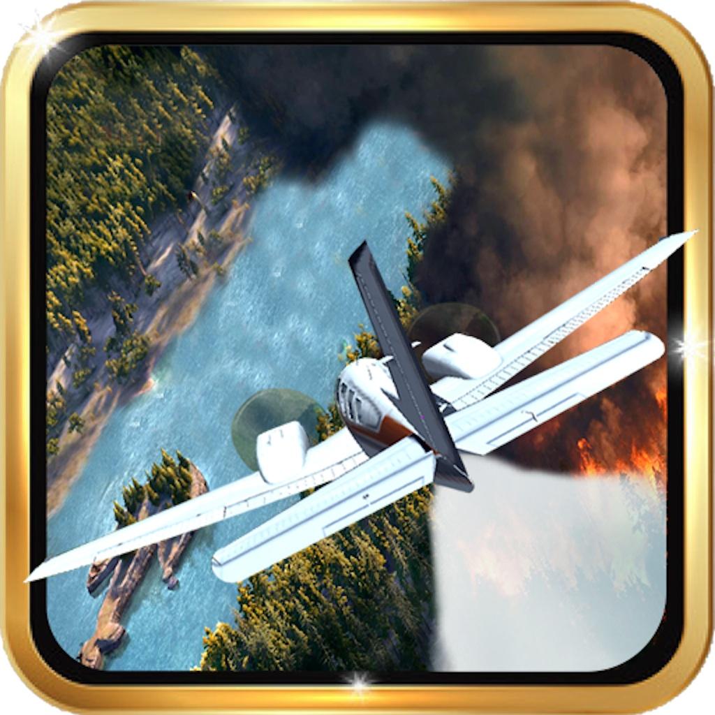 Самолет пожарной бригады - спасения